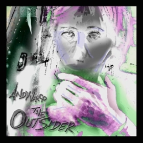 Image of CD Album Cover The Outsider by Andy Vargo