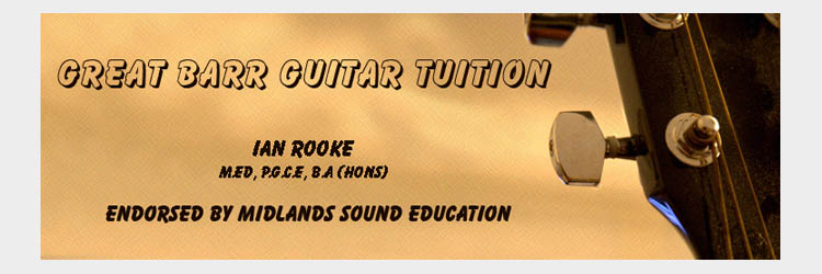 great barr guitar tuition endorsed by midlands sound education. Black Bedroom Furniture Sets. Home Design Ideas